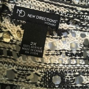 new directions Sweaters - NewDirections Curvy Long Sweater Vest